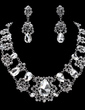 Elegant Alloy/Rhinestones Women's Jewelry Sets (011019391)