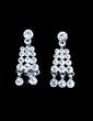 Elegant Alloy/Rhinestones Women's Jewelry Sets (011028616)