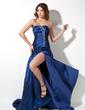 Çan/Prenses Kalp Kesimli Kısa Kuyruk Taffeta Mezuniyet Elbisesi Ile Büzgü Boncuklama (018002492)