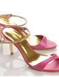 Leatherette Stiletto Heel Sandals Pumps Slingbacks shoes (087039887)