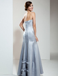 Trumpet/Mermaid Strapless Floor-Length Satin Evening Dress (017039552)