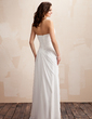 A-Line/Princess Sweetheart Floor-Length Chiffon Wedding Dress With Ruffle (002012917)