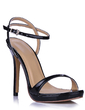 Women's Leatherette Stiletto Heel Sandals Slingbacks shoes (087015262)