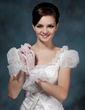 Voile Wrist Length Party/Fashion Gloves/Bridal Gloves (014020512)
