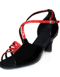 Women's Patent Leather Heels Sandals Latin Dance Shoes (053013589)