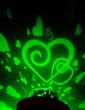 Color changing Heart Design Vinyl LED Lights (131036850)