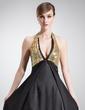Imperialna Kantar Tren Dworski Charmeuse Sequined Suknia dla Mamy Panny Młodej Z Perełki (008005575)