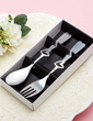 Heart Design Stainless Steel Spoon And Fork Set (051017013)