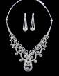 Unique Alloy/Rhinestones Ladies' Jewelry Sets (011029080)