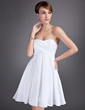 Empire Sweetheart Knee-Length Taffeta Homecoming Dress With Ruffle (022010098)