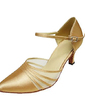 Women's Satin Heels Pumps Modern Dance Shoes (053013211)