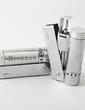 Personalized Simple Design Zinc Alloy Lighter (Set of 4) (051029019)
