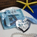 Butterfly & Heart Stainless Steel Bookmarks With Tassel