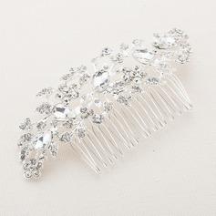 Handmade/Shining Alloy/Austrian Crystal Combs & Barrettes