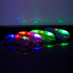 Farbwechsel Brille Entwurf Kunststoff LED-Lampen (Satz von 4)