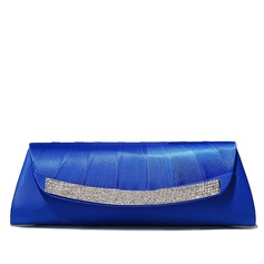 Silk With Crystal/ Rhinestone Clutches