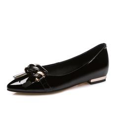 Naisten Aitoa nahkaa Matalakorkoiset Heel Matalakorkoiset Suljettu toe kengät