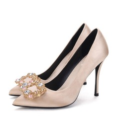 Donna Raso Tacco a spillo Stiletto con Strass