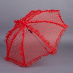 Rozkošný Lace Deštníky S Vyšívání