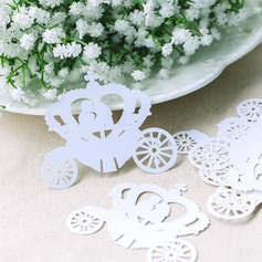 Wedding Car Pearl Paper Place Cards (set of 12)