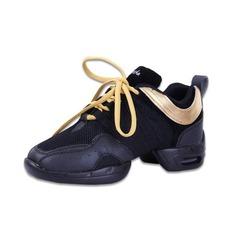 Donna Similpelle Sneakers Prova con Allacciato Scarpe da ballo