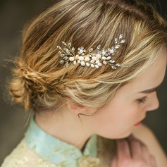 Glamourous Rhinestone/Imitation Pearls Combs & Barrettes