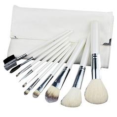 1 Ren 10Pcs Vit Påse Makeup Tillbehör