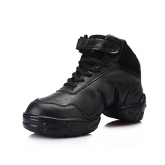 Women's Leatherette Sneakers Salsa Dance Shoes