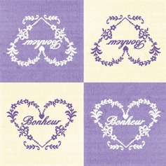 Bonheur vines design Dinner Napkins (Set of 20)