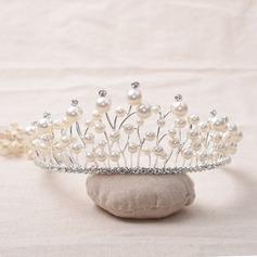 Beautiful/Elegant Rhinestone/Alloy/Imitation Pearls Tiaras