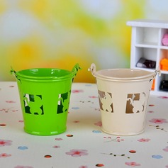Cute Animal Cylinder Favor Pails (Set of 12)