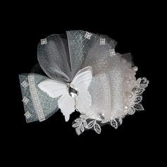 Yksinkertainen Perhonen Kristalli Netto Kukat