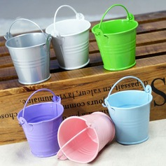 Lovely Cylinder Favor Pails (Set of 12)