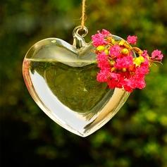Aantrekkelijk Ontwerp van het Hart Glas Vaas