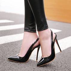 Femmes Similicuir Talon stiletto Sandales avec Élastique chaussures