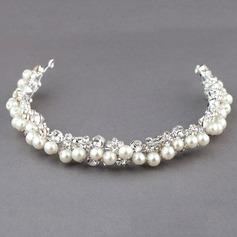 Fashion Rhinestone/Alloy/Imitation Pearls Headbands