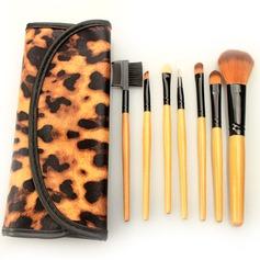 Fabelhaft 7Pcs Leoparden Leoparden Beutel Make-up Accessoires