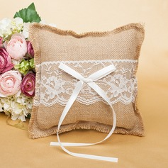 Gorgeous Ring Pillow With Bow/Lace