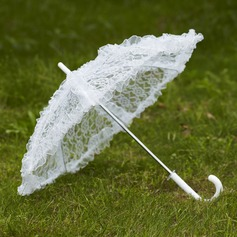 Elegantní Lace Deštníky S Vyšívání
