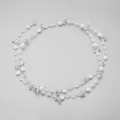 Elegant Rhinestone/Alloy/Imitation Pearls Headbands