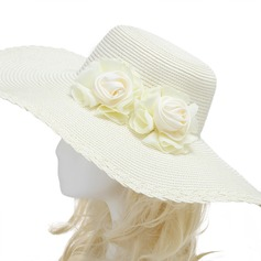 Charming Artificial Silk/Imported Paper Hats