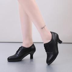 Dámské Koženka Swing Trénink Taneční boty