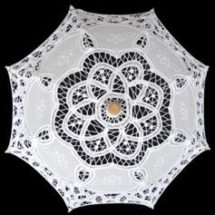 Katoen Bruidsparaplu met Borduren