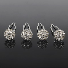 Lovely Alloy Hairpins (Set of 4)