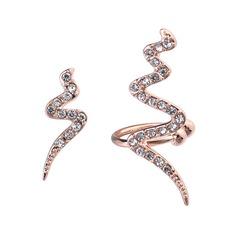 Unique Alloy Rhinestones Women's Fashion Earrings
