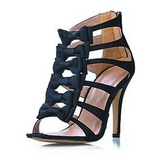 Similicuir Talon stiletto Sandales chaussures