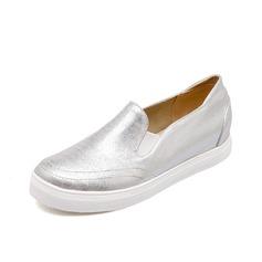Tissu Talon plat Chaussures plates Bout fermé chaussures