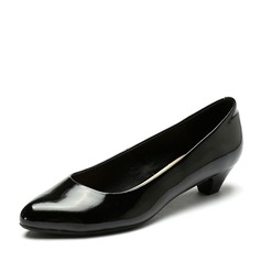 Femmes Similicuir Talon bas Escarpins chaussures